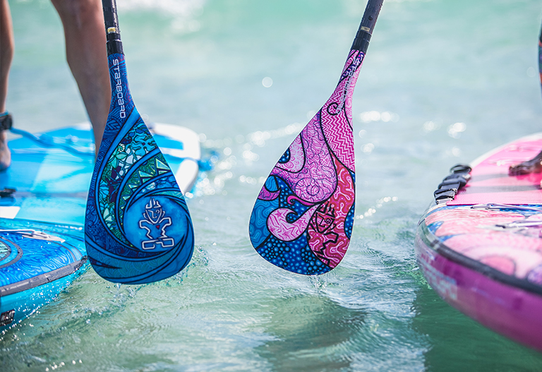 Paddle Surf diseño remo Starboard